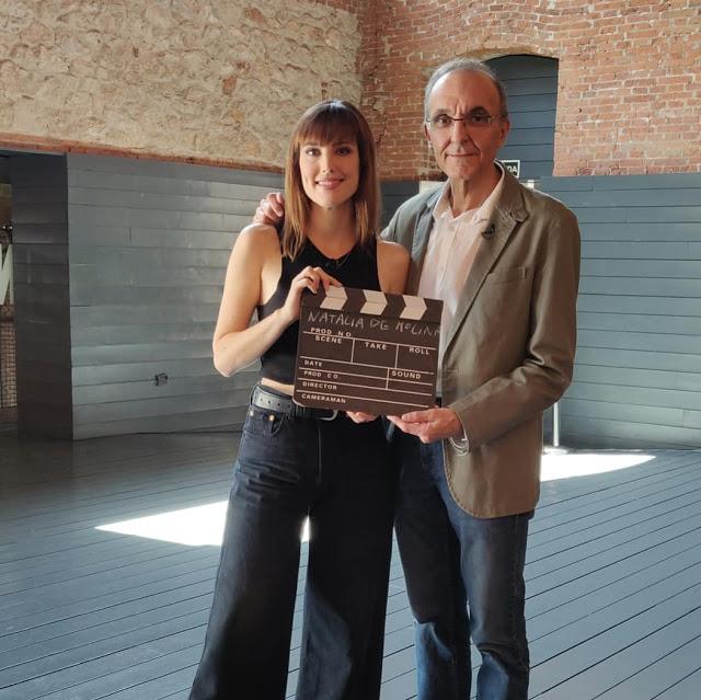 Natalia de Molina junto a Gerardo Sánchez en DDC