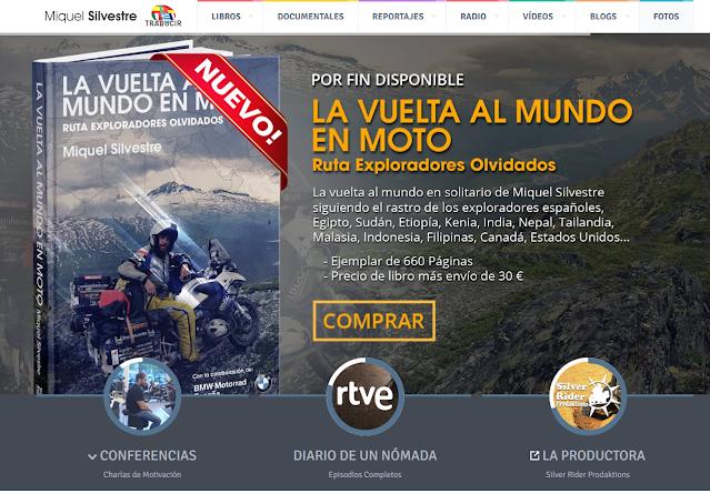 Libro: La vuelta al mundo en moto | Entrevista en entrevisttas.com