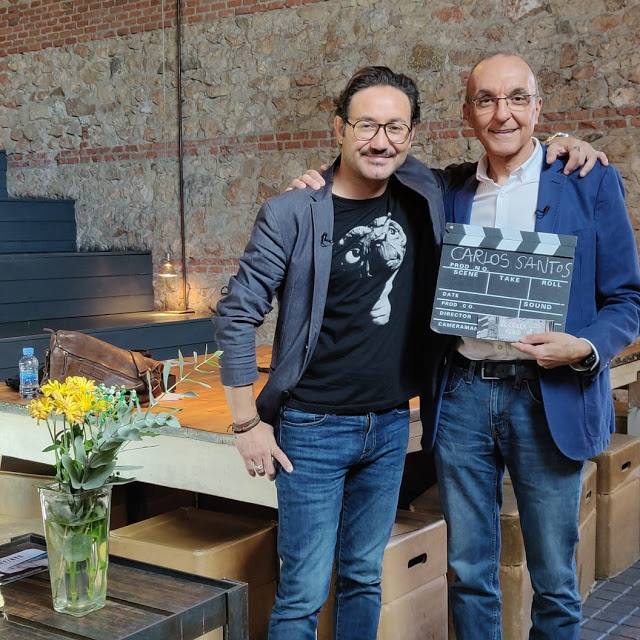 Carlos Santos y Gerardo Sánchez