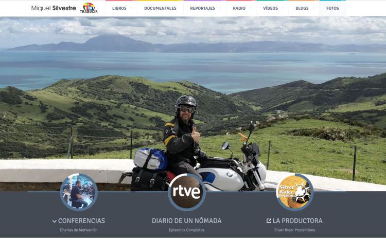 Página web de Miquel Silvestre | Entrevisttas.com