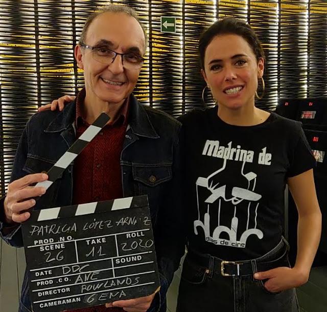 Gerardo Sánchez y Patricia López Arnáiz