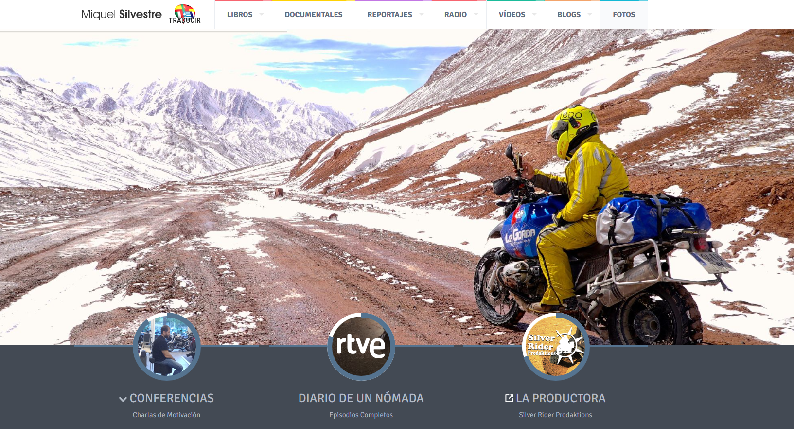 Viajes de Miquel Silvestre | Entrevista en entrevisttas.com