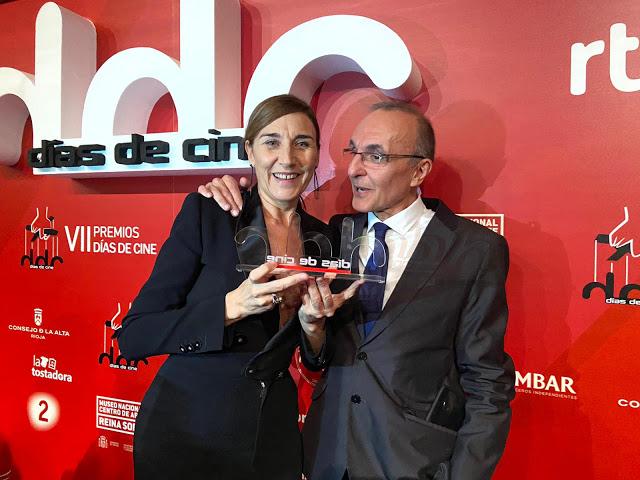 Mona Martínez en los Premios Días de Cine