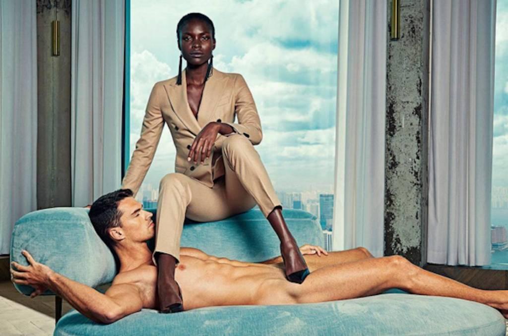 Hombres desnudos, mujeres vestidas. Entrevisttas.com