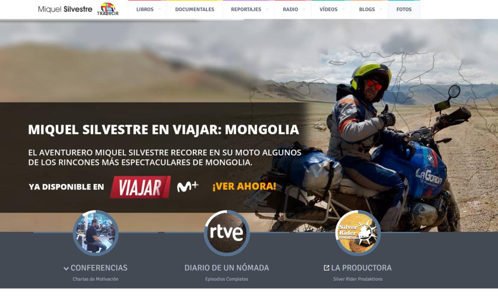 Miquel Silvestre | Diario de un nómada. Entrevisttas.com