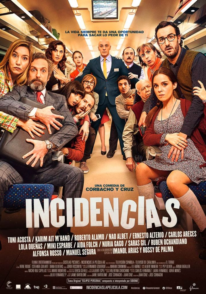 Cartel del largometraje Incidencias, por Juan Cruz y Jose Corbacho. Entrevisttas.com. Entrevista realizada por Carmen Nikol.