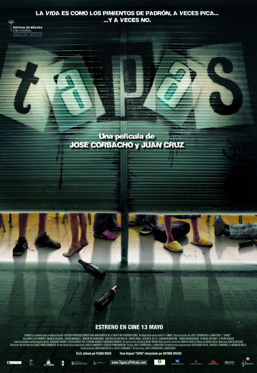 Cartel de Tapas, largometraje de Juan Cruz y Jose Corbacho. Entrevisttas.com. Entrevista realizada por Carmen Nikol.
