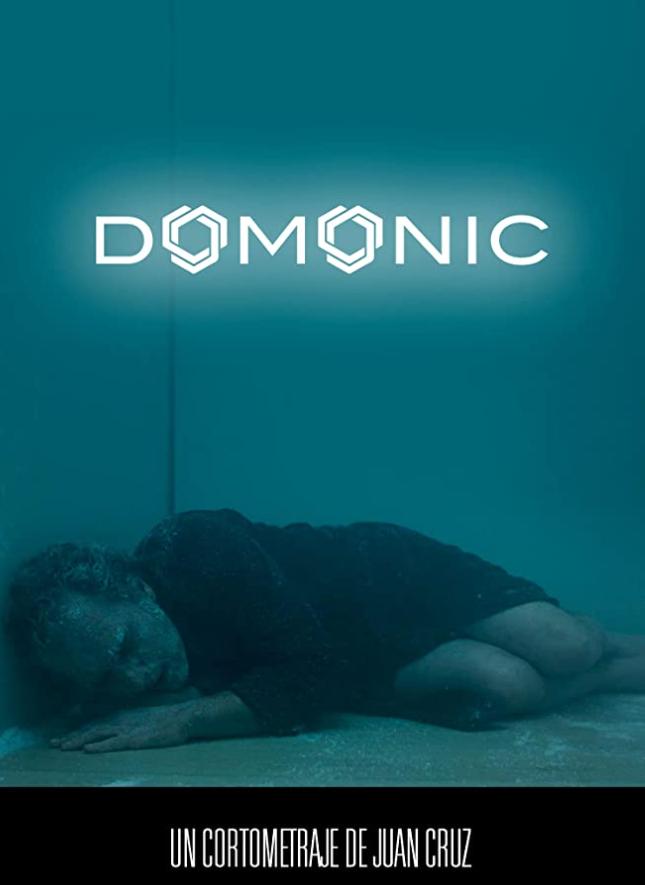Cartel de Domonic, corto dirigido por Juan Cruz y protagonizado por José Coronado. Entrevista realizada por Carmen Nikol, en www.entrevisttas.com