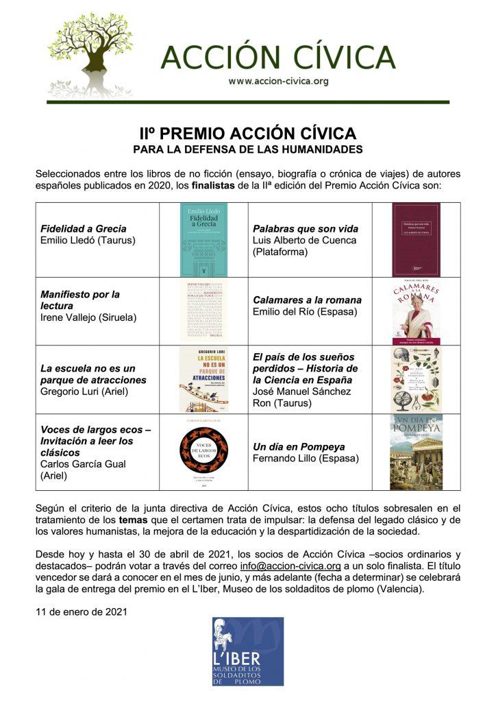 Premios Acción Cívica. Entrevista a Antonio Penadés en Entrevisttas.com
