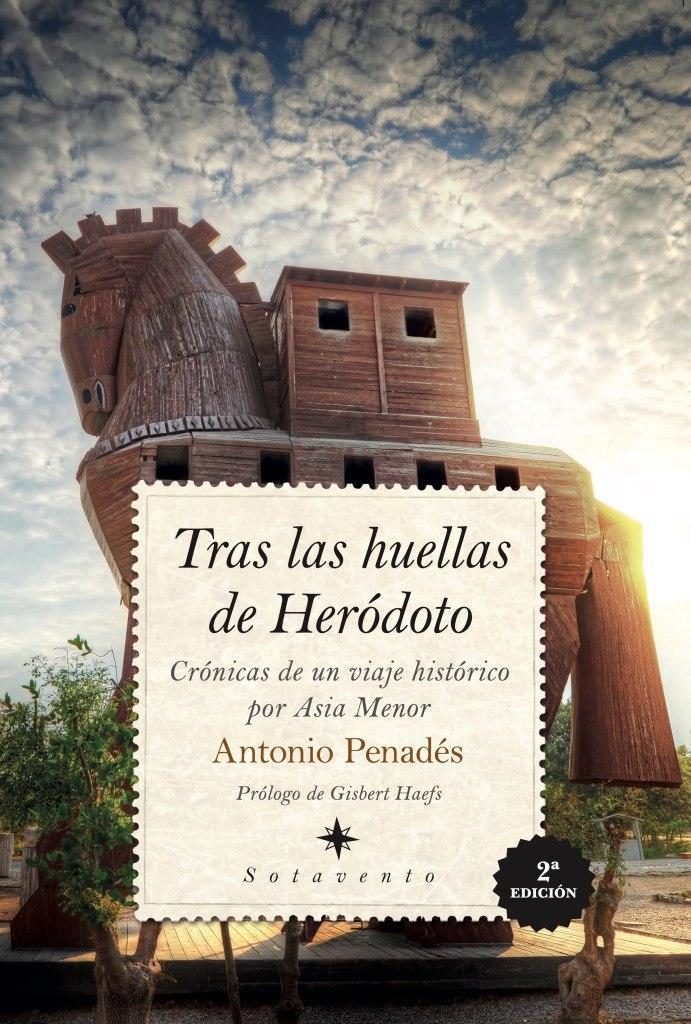 Portada de Tras las huellas de Heródoto, de Antonio Penadés