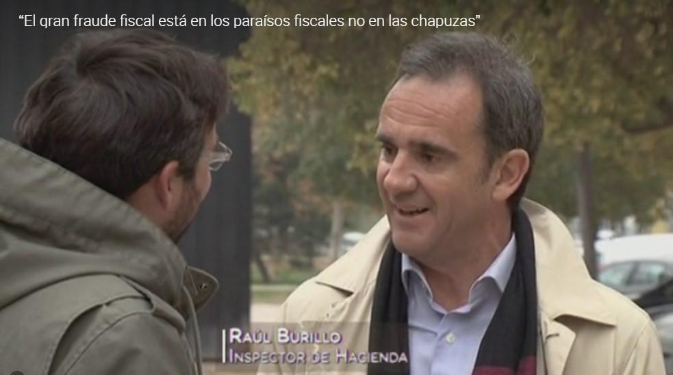 Raúl Burillo: Inspector de Hacienda. Entrevista realizada por Carmen Nikol en www.entrevisttas.com