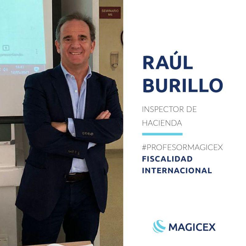 Raúl Burillo | #Profesormagicex