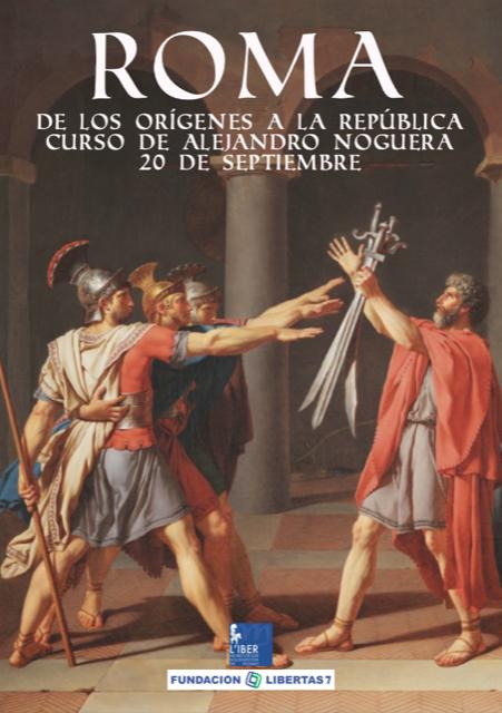 Roma: de los orígenes a la república   Hoy 20 de septiembre de 18:30h a 20h en el Museo L'Iber de Valencia   Por Alejandro Noguera